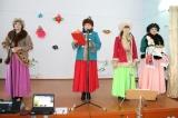 Районный праздник Навруз в посёлке Карабулак. 20 марта 2015 год