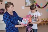 Подарки детям из Кизильского детского дома