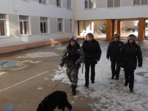 Кизильские полицейские обезвредили взрывное устройство в КСШ №2