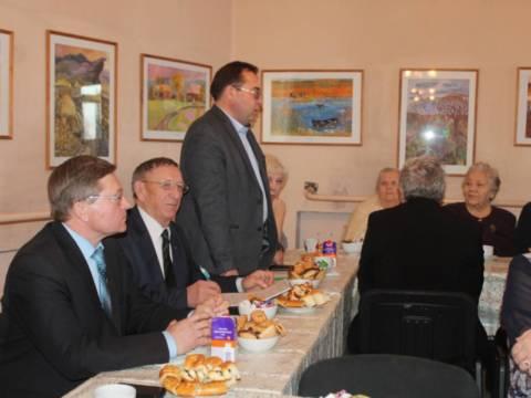 Состоялась встреча ветеранского актива с районным руководством и главами сельских поселений