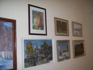 В Кизильском музее начала свою работу выставка под названием «Любовь к искусству: Живопись, графика, скульптура»