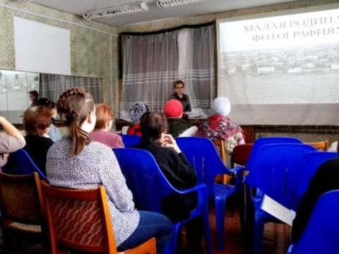 Для ветеранов посёлка Гранитный состоялась встреча под названием «Наша малая Родина в фотографиях»