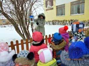 """Для воспитанников детского сада """"Солнышко"""" в библиотеке проведён урок экологии"""