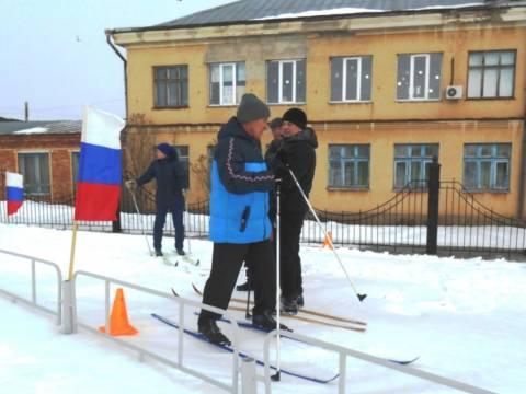 Ветераны Кизильского района приняли участие в эстафете по биатлону