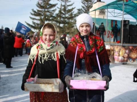 Кизильчане на славу проводили зиму: фотоотчёт с места события