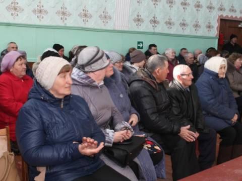 В Полоцком состоялся сход жителей
