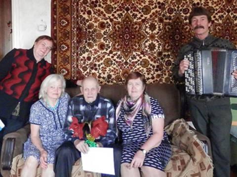 Участнику Великой Отечественной войны исполнилось 93 года!