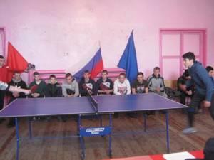 В поселке Увальском Кизильского района прошёл турнир по настольному теннису