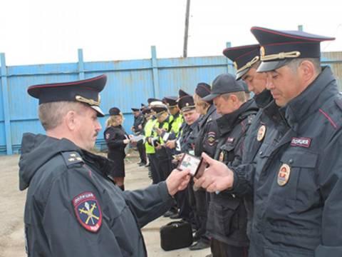 В Отделе МВД России по Кизильскому району прошел строевой смотр