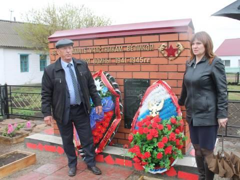 В поселке Грязнушинском Кизильского района состоялось открытие мемориала памяти участников Великой Отечественной войны