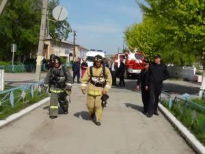 18 мая на базе МОУ Кизильская СОШ №1 была проведена тактико-специальная тренировка
