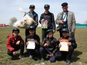 На стадионе Кизильского района «Синий камень» прошел конкурс «Сам себе спасатель»