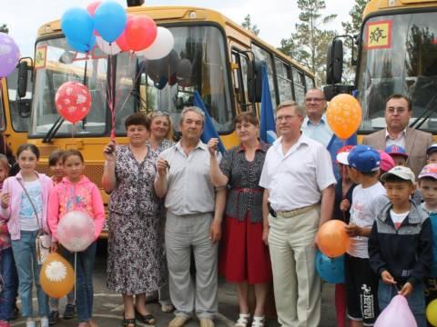 В рамках проекта партии «Единая Россия» был обновлен школьный автопарк