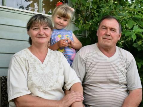 Красивая история счастливой семьи из Гранитного