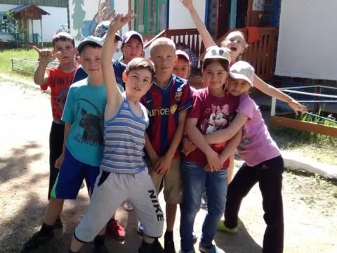 «Год экологии» первой смены детского лагеря «Солнечный» в Кизильском районе