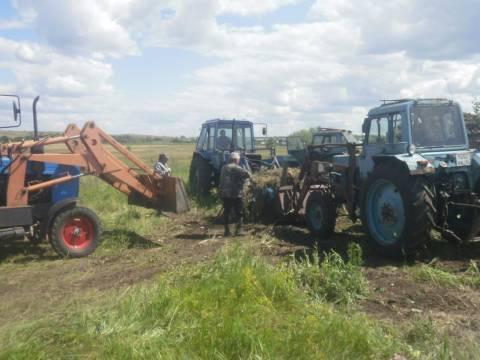 В Зингейском сельском поселении Кизильского района провели большой субботник
