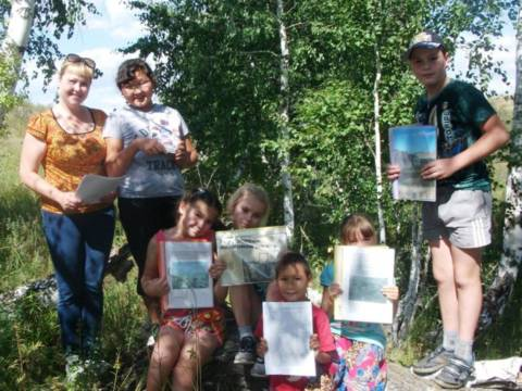 16 августа было организовано эколого-краеведческое путешествие по родному краю «Тропой натуралиста»