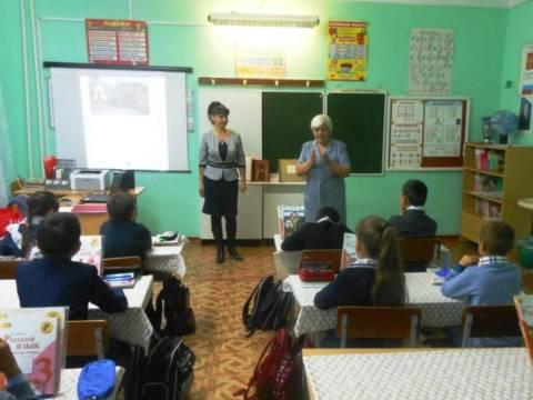 22 сентября в школе Гранитного сельского поселения прошла встреча