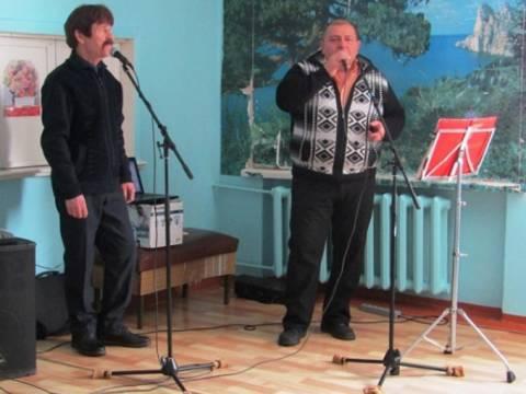 В хирургического отделения районной больницы был проведен небольшой концерт, посвященный Всемирному дню больного