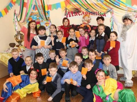 В Кизильском историко-краеведческом музее состоялся шумный и веселый праздник «Масленица, раскрасавица душа…»
