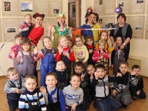 В Кизильском музее для детей юного возраста было проведено мероприятие «Жаворонки весну кличут»