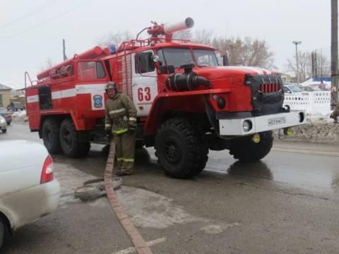 Полицейские Кизильского района провели совместные пожарно-тактические учения