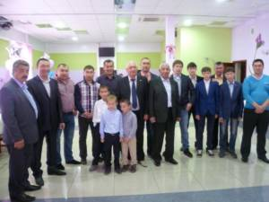 Житель посёлка Свет отметил 70-летний юбилей