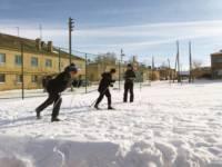 В хорошую погоду встать на лыжи
