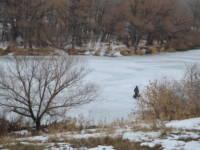 Вода в Урале поднялась несильно
