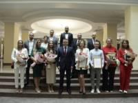 Алексей Текслер наградил призеров и участников XXXII летних Олимпийских игр в Токио